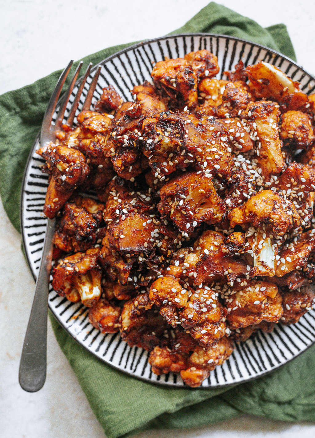 Oven Baked Gobi Manchurian The Blurry Lime